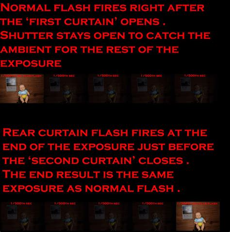 rear curtain flash best of the photography forums tutorials flash quot rear