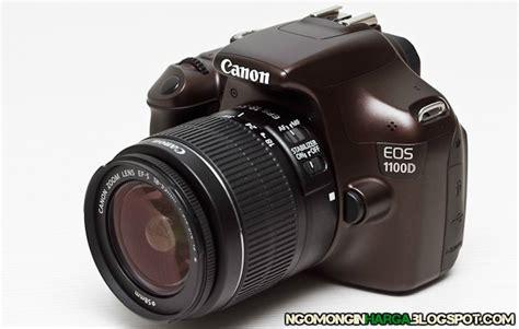Kamera Canon Eos 1100d Kit spesifikasi dan harga kamera canon eos 1100d kit terbaru