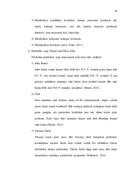 Asuhan Kebidanan Ibu Nifas Deteksi Dini Komplikasi Juraida Roito H manajemen dan pendokumentasian asuhan kebidanan ibu nifas