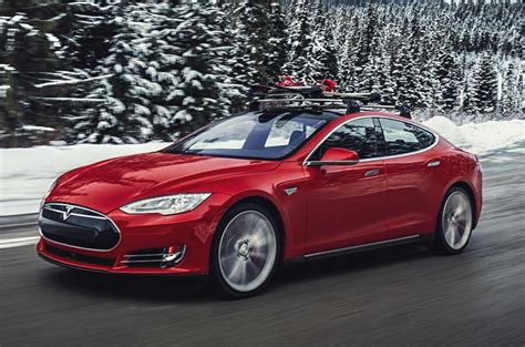 New Tesla Models 2015 Now Tesla Is All Weather Car Thanks To Awd In New P85d Model