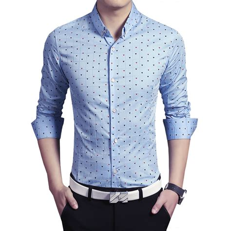 dress shirt picture more detailed picture about asian style dresses 2016 new fashion casual men shirt long sleeve print slim