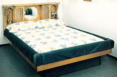 Water Bunk Beds Waterbed Valencia Complete Hb Fr Deck Ped K King Pine Waterbeds Frames Pine Waterbeds
