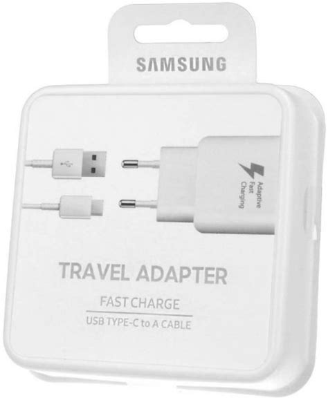 Samsung Fast Charge Usb Type C To A Cable Ep Ta300 Original samsung adaptive fast charging travel adapter with usb type c cable ep ta300cweg eu 2 pin