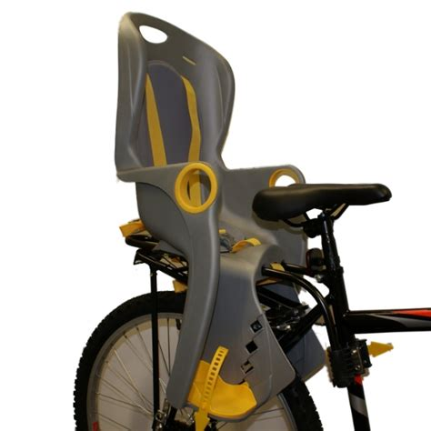 Rack Mounted Child Seat by Pedalpro Rear Bicycle Bike Cycle Padded Child Safety