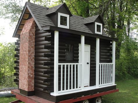 Handmade Log Cabin - handmade log cabin playhouse by out on a limb playhouses