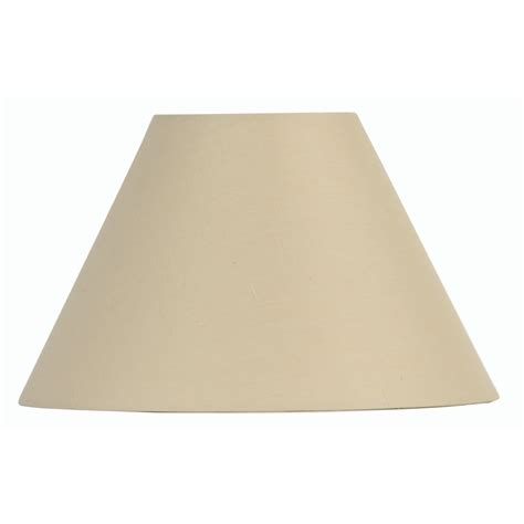 20 inch l shade beige cotton coolie l shade 20 inch s501 20bg oaks