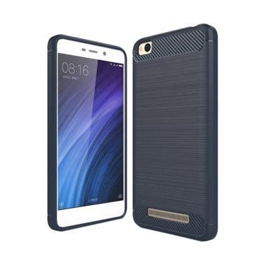 Xiaomi Redmi 4a Softcase Viseaon Litchi jual viseaon carbon brushed tpu rubber softcase casing for