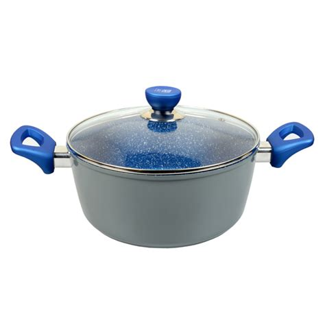 Kitchen Marble Pan Blue Marble Pot Pan Cookware W 8 Options Buy