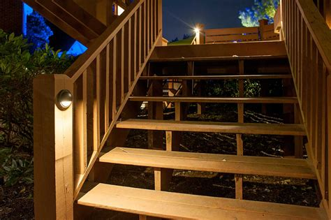 how to install deck lights on stairs deck stairs lighting lighting ideas