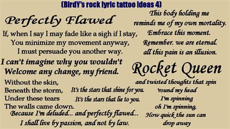 tattoo song lyrics ideas my rock heavy metal song lyric tattoo ideas 4 otep tool