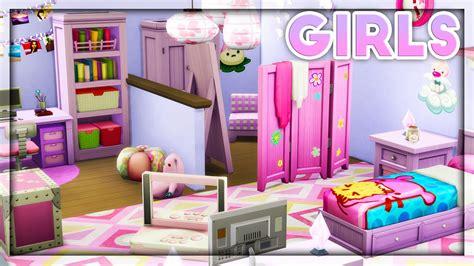 girls bedroom l the sims 4 room build kids room stuff girls room