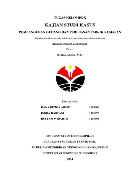 laporan analisis dokumen amdal kelompok 1