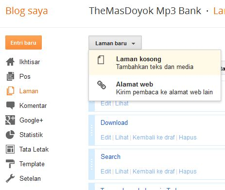 cara membuat blog mp3 linuxer amatir baubau cara membuat blog download mp3 di