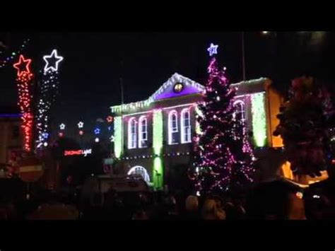 melksham christmas lights youtube