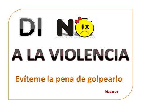 imagenes de no ala violencia de género el planeta mayarog di no a la violencia