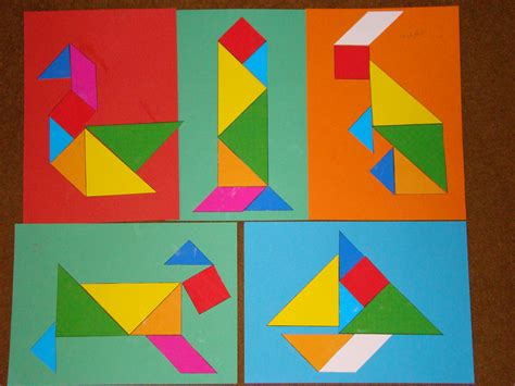 new year tangram activities new year crafts 3 and a gluestick