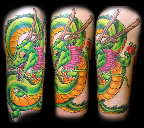 dragon ball tattoo tattoos shenron the dao of