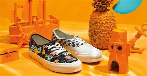Harga Vans Spongebob vans lancarkan koleksi khas spongebob squarepants glam