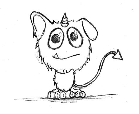 cute monster coloring page coloring home