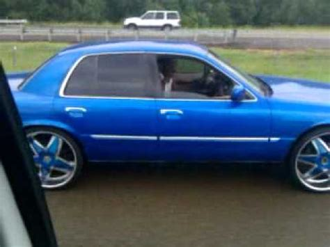 grand on 24s blue grand marquis on 24s
