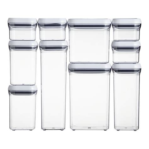 oxo 174 10 pop container set - Oxo Storage Containers