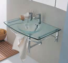 Small Bathroom Vanity With Vessel Sink - beautiful moon glass sink home designs project