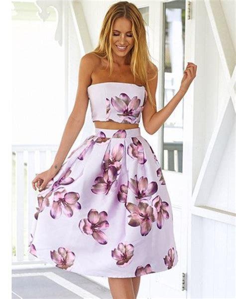 Dress Set floral two dress set