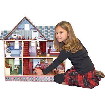 melissa doug classic heirloom victorian doll house melissa doug classic heirloom victorian dollhouse