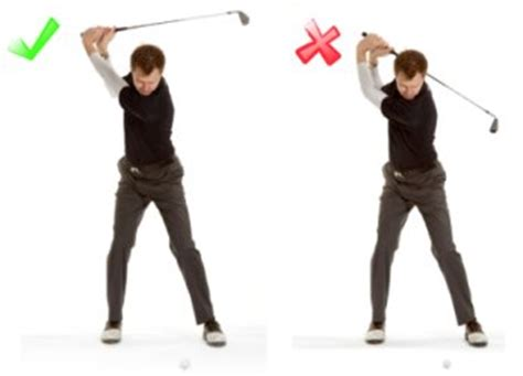 turning hands over in golf swing top of golf swing position free online golf tips