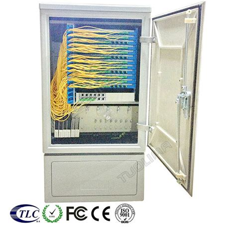 fiber optic cross cabinet distribution outdoor cable box