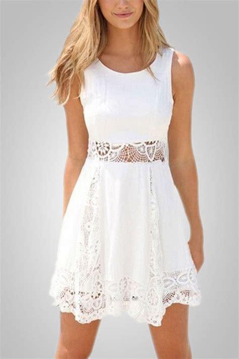 25  best ideas about White Lace Dress Short on Pinterest