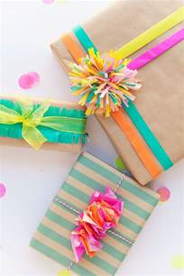 gift wrapping tips 3 ways to wrap with tissue paper tell and