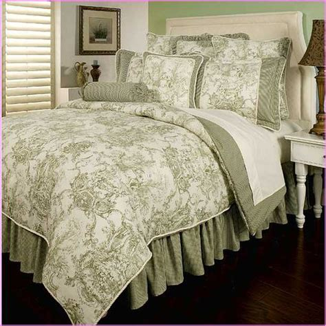 french country toile beddingjpg  pixels
