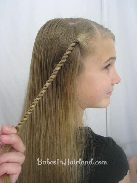 rope braid hairstyles for long hair rope braid hairstyle
