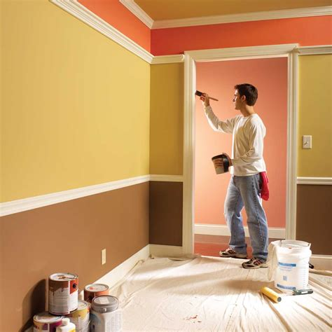 diy interior wall painting tips techniques