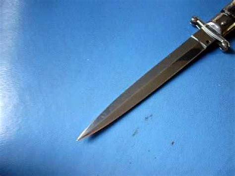 swing guard switchblade frank beltrame 11 quot italian stiletto swing guard