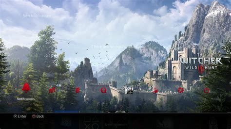 ps4 themes witcher 3 the witcher 3 wild hunt ps4 theme looks absolutely