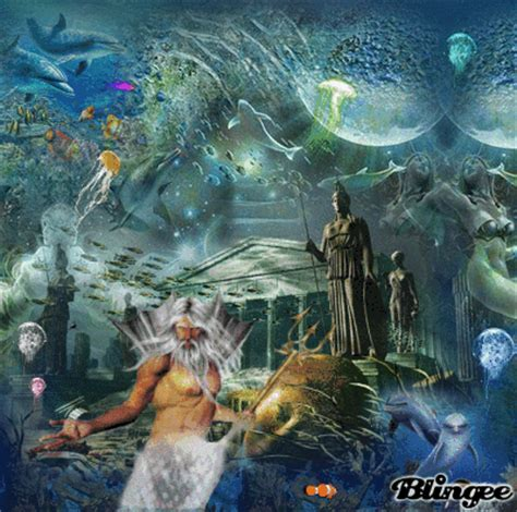 poseidon ruler of the sea claiming atlantis picture