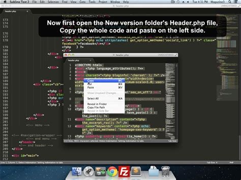 sublime text 3 theme location mac how to transfer customizations to new version of theme in