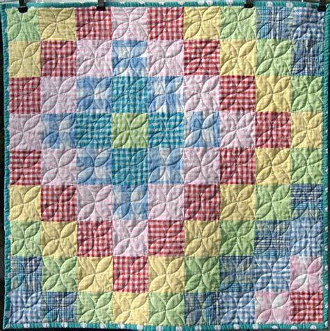Sequim Quilt Company by Pippin Sequim Gingham Baby Quilt