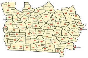 map of south counties wims county id maps