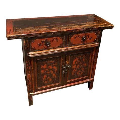 vintage asian antique cabinet   antique