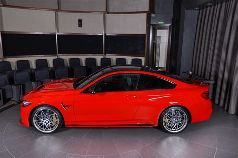 red bmw m4 ferrari red bmw m4 is delicious to look at carscoops