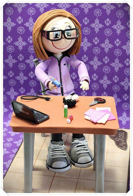 silla clay dolls fofucha manualidades con mesa y silla moosgumi dolls