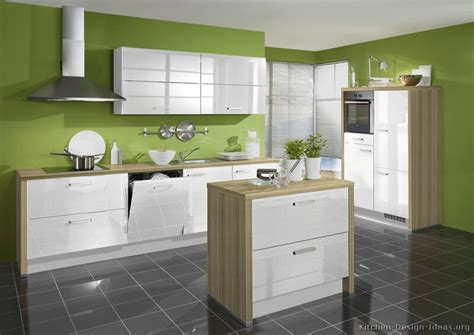 Green And White Kitchen Cabinets Pictures Of Kitchens Modern Two Tone Kitchen Cabinets Page 5
