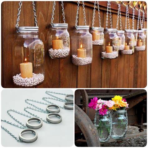 diy hanging mason jar lantern  add  romantic glow