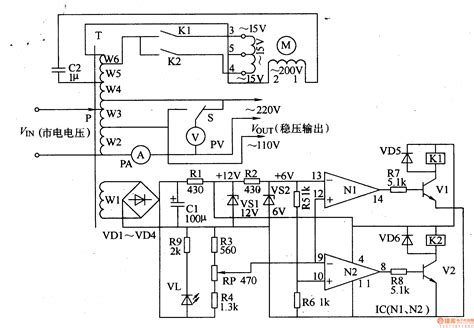 ac voltage relays wiring wiring diagram with description