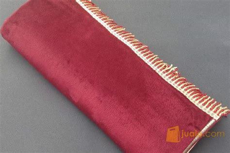 Sajadah Polos 1 sajadah bulu polos halus lembut merah maroon jakarta timur jualo