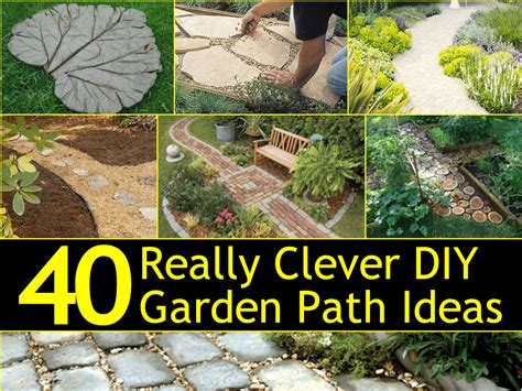 garden pathway ideas 40 really clever diy garden path ideas