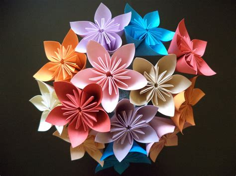 How To Make Kusudama Paper Flowers - kusudama origami flower comot